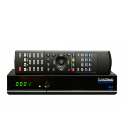 Medialink Smart HOME 4100 T2C 1 card premium IPTV HDTV Receiver