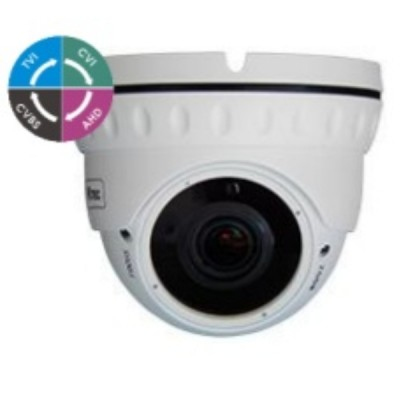 Κάμερα Dome μεταλλική varifocal anti vandal 5MP 2.8-12mm IR30m D5VW AVISION
